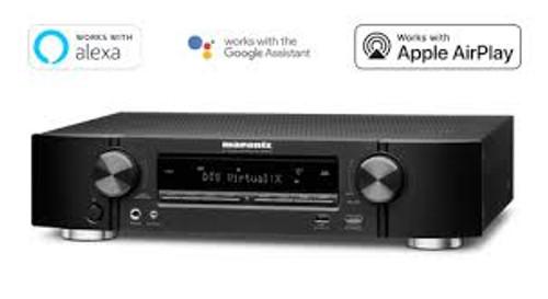 Marantz NR1609 Slim 7.2 Channel AV Receiver with HEOS