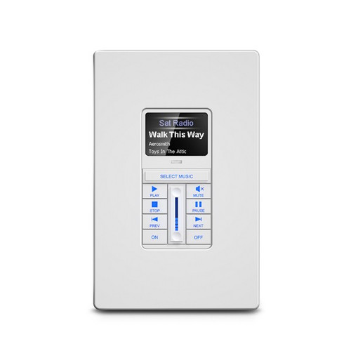 "RTI KX1 Multiroom Audio Keypad with 1.2"" OLED Display"