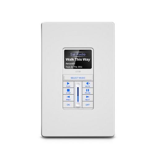 """RTI KX1 Multiroom Audio Keypad with 1.2"""" OLED Display"""