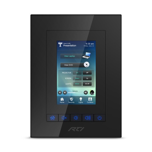 """RTI KX3 3.5"""" In Wall PoE Touchscreen Controller with Integrated Control Processor"""