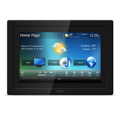 "RTI KX10 10"" In-Wall PoE+ Touchscreen Controller with HDBaseT Input"