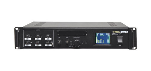 Redback PA Mixer Amplifier 125W 6 Input