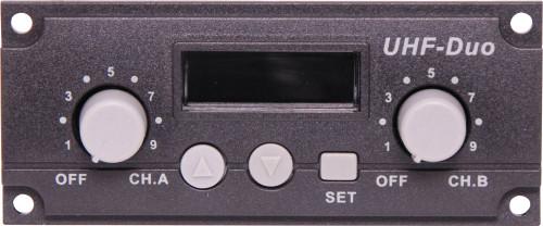 Okayo UHF Wireless Dual Microphone Receiver Module (640MHz)