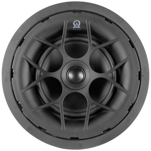 """Origin Acoustics Transformer D61T 6.5"""" Poly 70/100V In-Ceiling Speaker - 6 Pack"""
