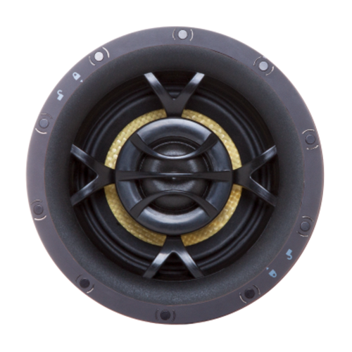 "Origin Acoustics Director 3"" Minimal Opening & In-Ceiling Subwoofer Bundle"
