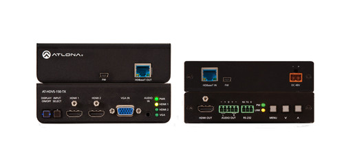 Atlona HDBaseT Tx/Rx with Three-Input Switcher & HD Scaler - Up to 70m