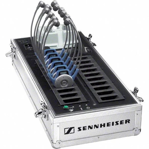 Sennheiser EZL 2020-20L Tour Guide Charging Station Case
