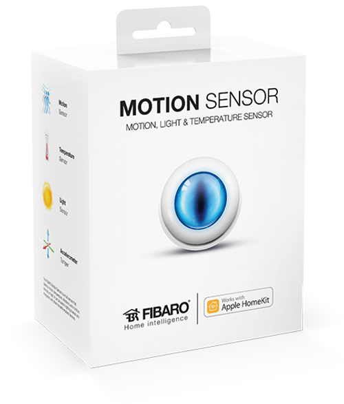 Fibaro Apple HomeKit Motion Sensor with Built-In Temperature Sensor