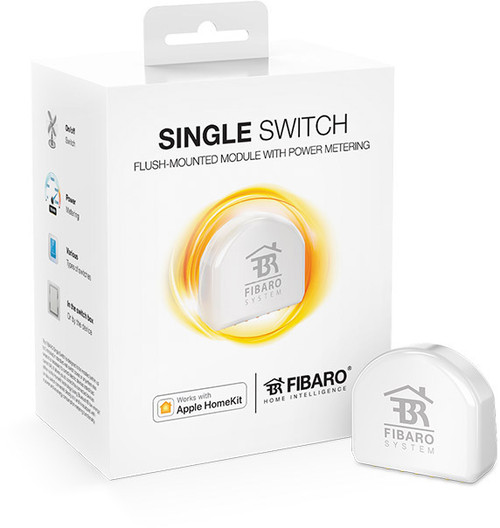 Fibaro Apple HomeKit Single Circuit On/Off Switch