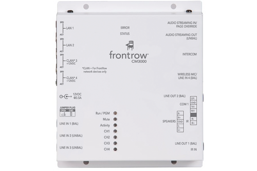 Frontrow CM3000 4-Input Conductor Networked Audio Amplifier
