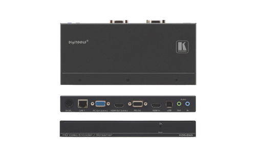 Kramer KDS-EN3 H.264 Video Streaming Over IP Encoder