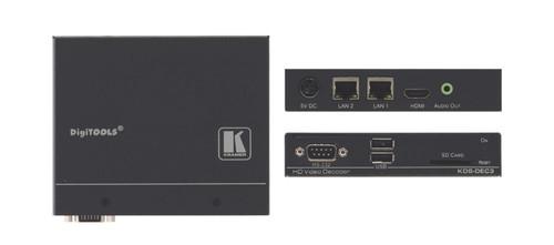 Kramer KDS-DEC3 H.264 Video Streaming Over IP Encoder