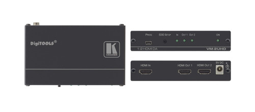 2-Way 4K UHD Distribution amplifier