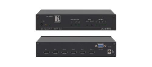 Kramer VM-24HC 2x1:4 Compact HDMI Switchable Distribution Amplifier