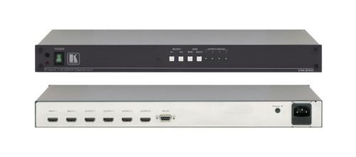 Kramer VM-24H 1RU 2x1:4 HDMI Switchable Distribution Amplifier