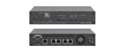 Kramer VM-114H4C 2x1:4 HDMI & DGKat To PoC DGKat Switchable DA