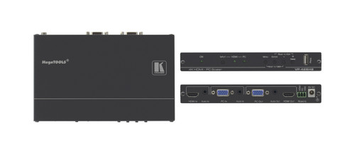 Kramer VP-426H2 4K60 HDMI / VGA to HDMI / VGA Scaler with Audio Embedding