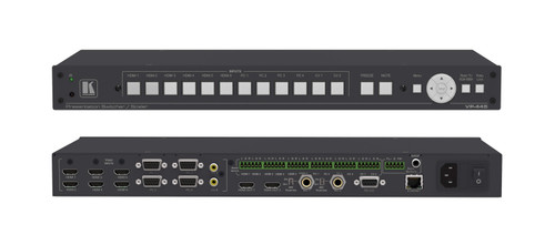 Kramer VP-445 12-Input Presentation Scaler / Switcher with Mic Inputs (HDMI, VGA, RCA)