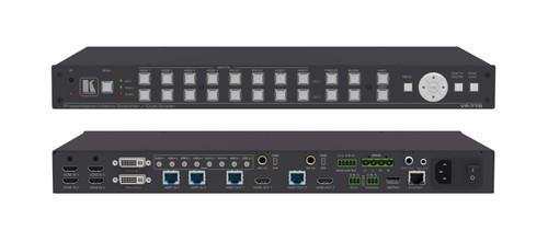 Kramer VP-778 8-Input Presentation Matrix Scaler / Switcher (HDMI, DVI, HDBaseT)
