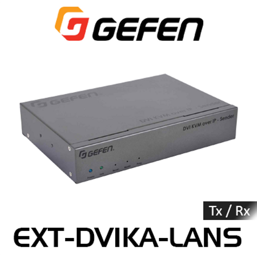 Gefen DVI KVM, USB, Analog Audio, IR & RS232 Over IP