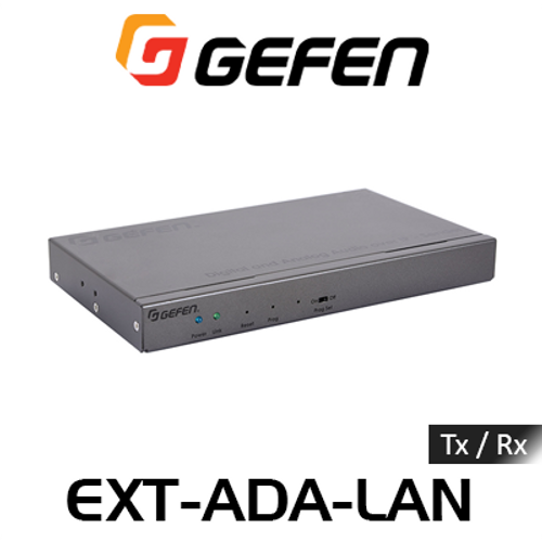 Gefen Digital & Analog Audio, IR & RS232 Over IP