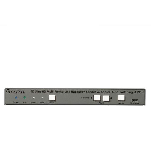 Gefen 2x1 4K UHD HDMI & VGA Over HDBaseT Transmitter w/ Scaler & PoH (40m)