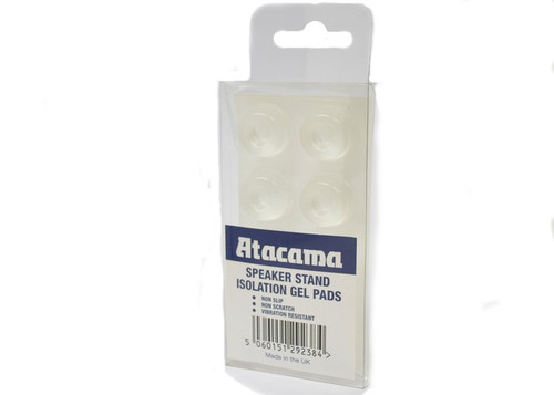Atacama Speaker Stand Isolation Gel Pads - Set of 8