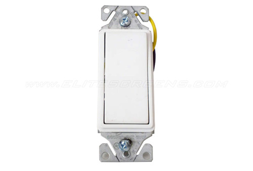 Elite Screens Low Voltage In-Wall Up / Down Switch (US Type)