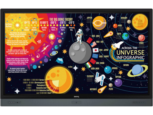 "BenQ RP Series 4K UHD Educational Interactive Touch Flat Display (65"", 75"", 86"")"