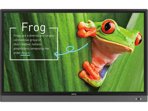 "BenQ RM Series 4K UHD Educational Interactive Touch Flat Display (55"", 65"", 75"", 86"")"