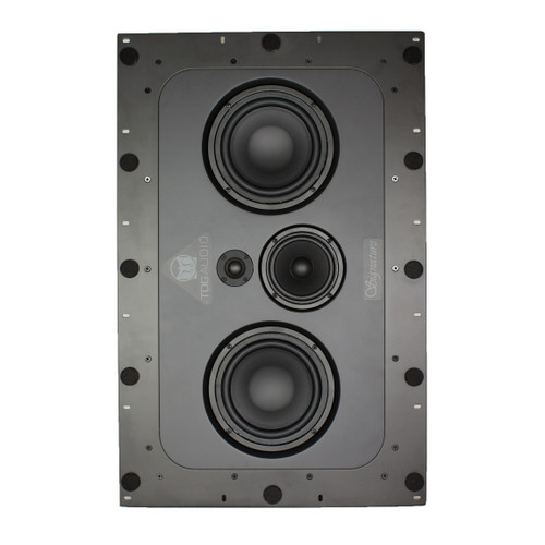 """TDG Audio Signature IWLCR-66 Dual 6.5"""" In-Wall LCR Speaker (Each)"""