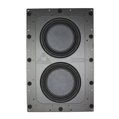 """TDG Audio Signature IWS-210 10"""" In-Wall Subwoofer (Each)"""