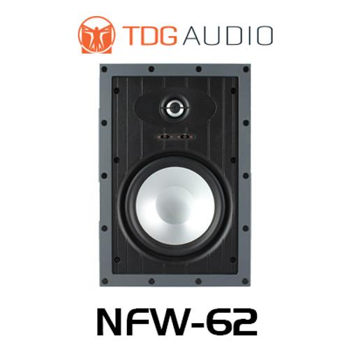 """TDG Audio NFW-62 6.5"""" Aluminium Architectural In-Wall Speaker (Each)"""