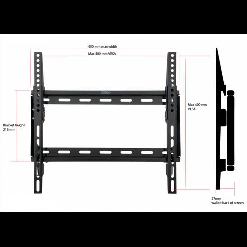 """Dekk 32""""-55"""" Tilt TV Wall Mount (400 x 400 VESA)"""