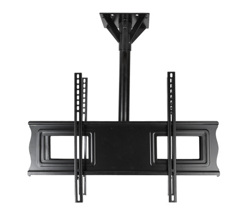 "SunBriteTV Dual 37""-80"" All-Weather Tilt Outdoor TV Ceiling Mount with 18"" Pole"