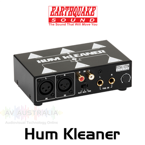 EarthQuake Hum Kleaner 2-Channel Hum Cleaner