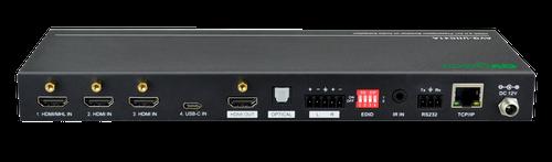 AVGear 4x1 HDMI 2.0 Presentation Switcher with USB-C