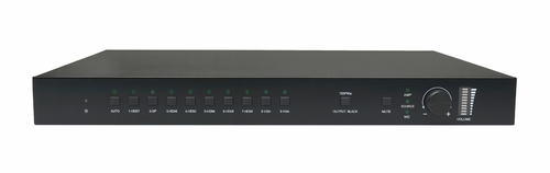 AVGear SCU91T 9x2 4K HDBaseT Scaler Switcher with 48V PoH