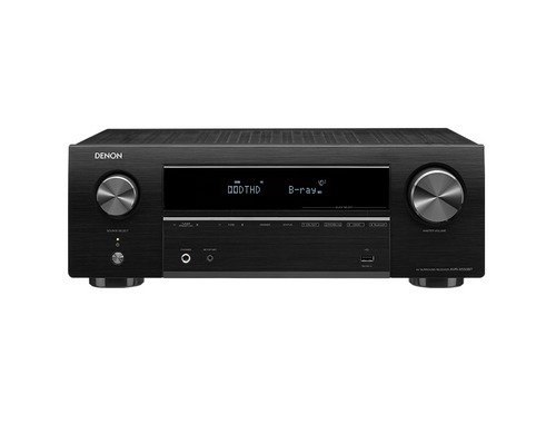 Denon X550BT 5.2-Ch 4K HDR AV Receiver with Bluetooth