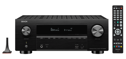 Denon X3500H 7.2-Ch 4K HDR AV Receiver with 3D Audio and HEOS Built-in