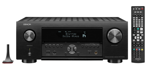 Denon X4500H 9.2-Ch 4K HDR AV Receiver with Auro-3D and HEOS Built-in