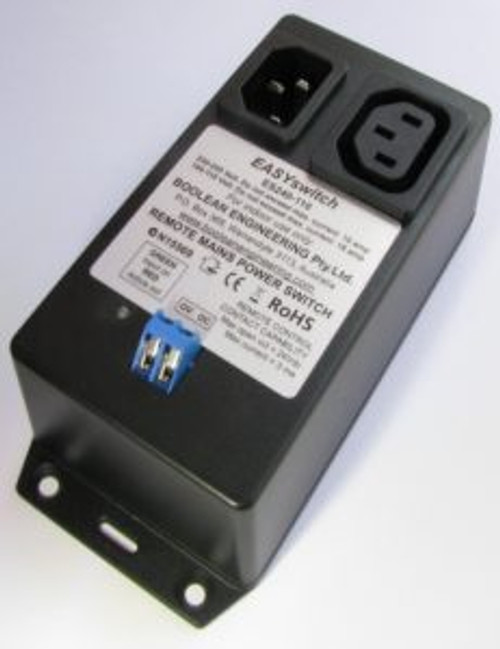 Boolean EASYswitch Remote Control of  240/110 Volt Mains Power