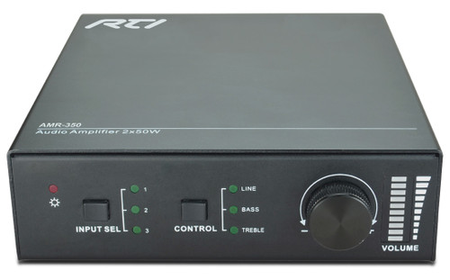 RTI AMR-350 Compact 3x1 Audio Amplifier