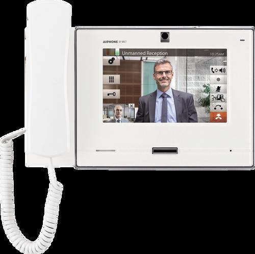 "Aiphone IX-MV7H 7"" IP/SIP Video Intercom Master Station with Handset"