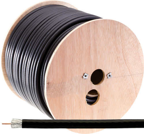 Doss RG11 Quad Shield 75 Ohm Coaxial Cable (100m)