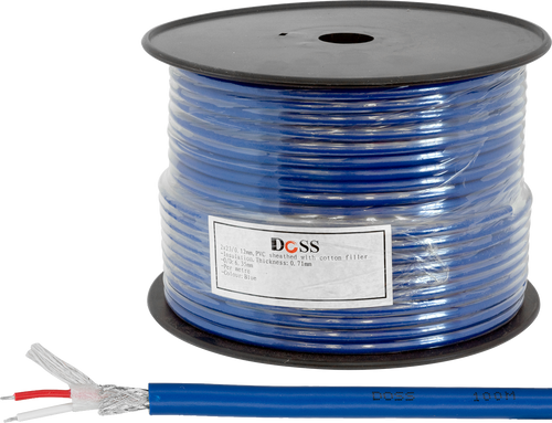 Doss 6.35mm OD Audio / Mic Cable (100m)