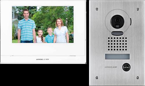 "Aiphone JOS-1 Series IP54 7"" Video Mobile Ready Front Door Intercom Kit"