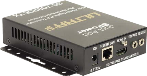 JAP 708POE 3G Transmitter Plus Audio Extraction