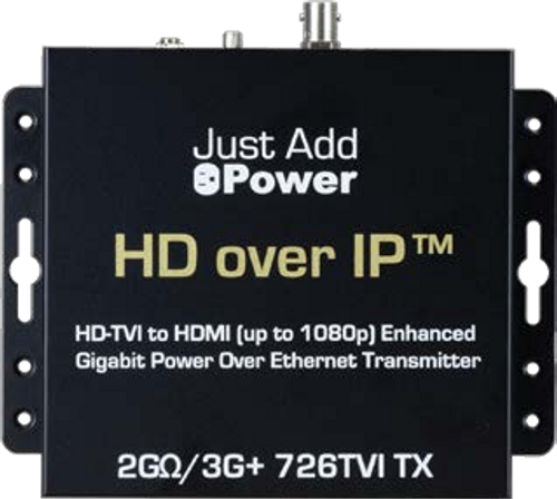 JAP 726TVI 2GΩ/3G TVI PoE Transmitter with HDMI Out