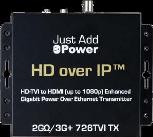 JAP 726TVI 2GΩ/3G TVI PoE Transmitter with HDMI Out